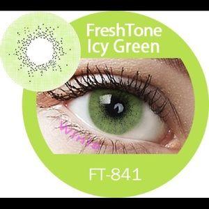 ICY GREEN FRESHTONE COLOR C-ONTACT L-ENSES